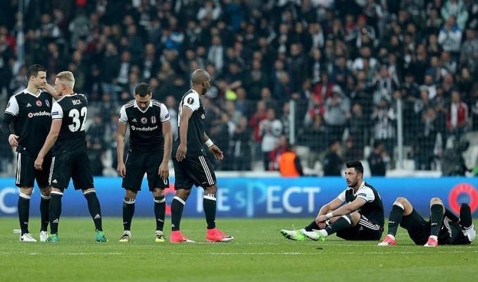 Beşiktaş Avrupa'ya penaltılarla veda etti