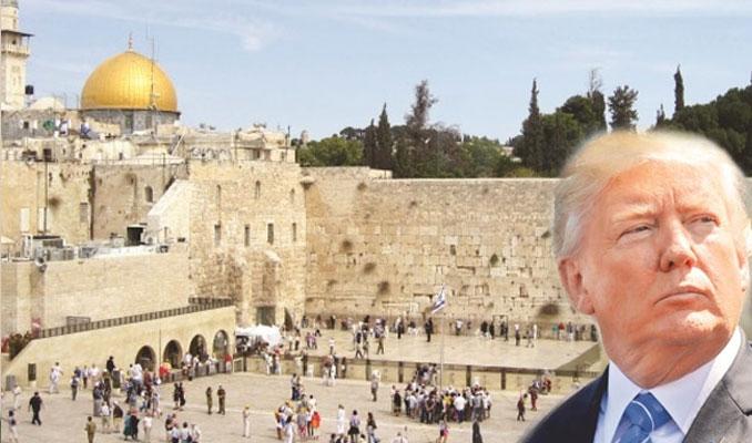 Trump'tan İsrail'e 'Burak Duvarı' tepkisi