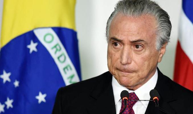 Brezilya Devlet Başkanı Temer'e yolsuzluk soruşturması