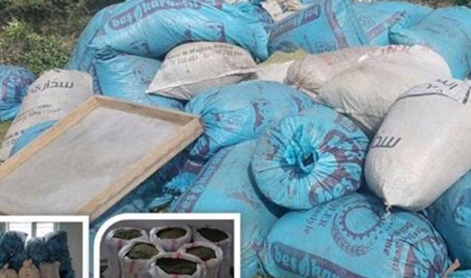 Diyarbakır'da 1 tondan fazla uyuşturucu ele geçirildi!