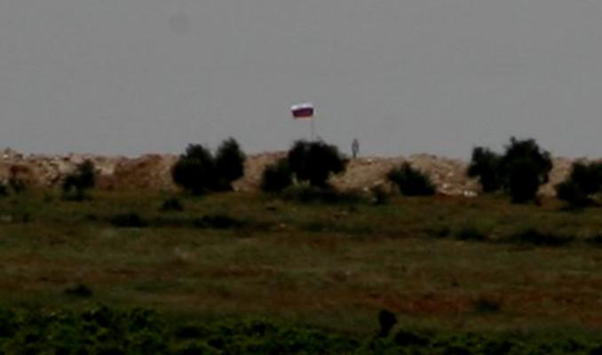 PYD'den sınırda bayrak terörü