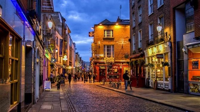 Londra'yı terk edecek bankaların yeni adresi Dublin
