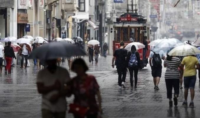 İstanbul'da yağmur için tarih verildi