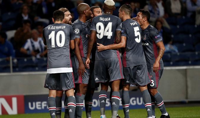 Porto: 1-3 :Beşiktaş