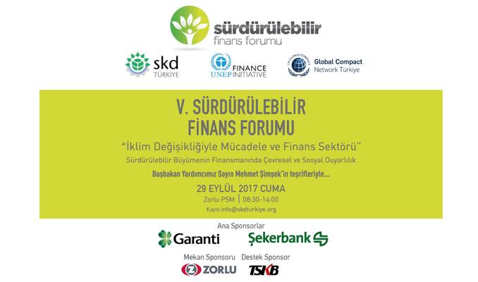 5. Sürdürülebilir Finans Forumu 29 Eylül'de başlıyor