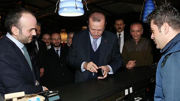 Erdoğan'dan ünlü çorbacıya ziyaret