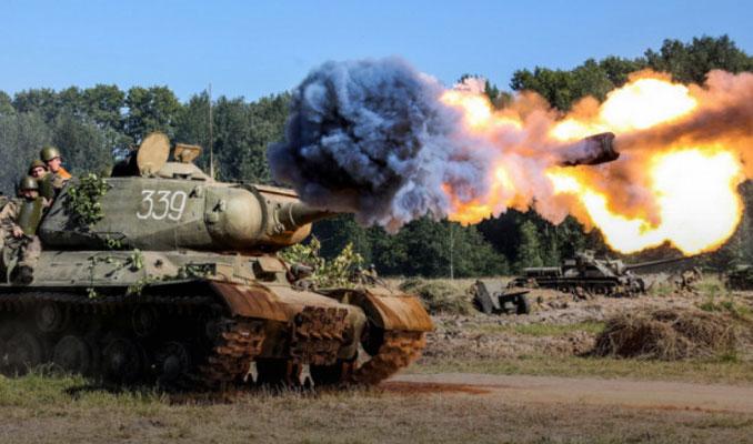 Afrin'deki terör hedeflerine top atışı yeniden başladı
