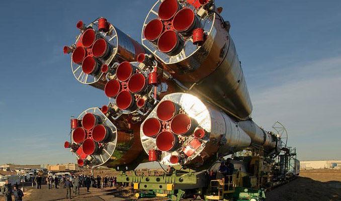 Soyuz fırlatılırken arıza yaptı