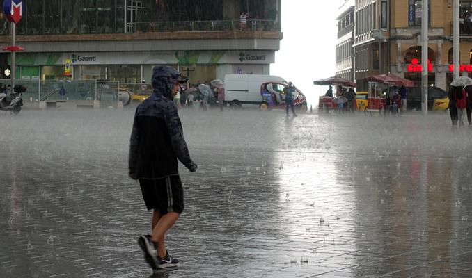 Meteoroloji'den sağanak yağmur uyarısı!