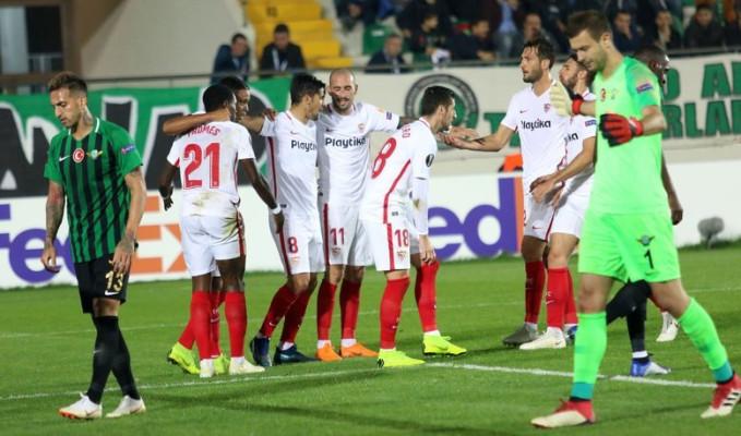 Akhisarspor: 2-3 :Sevilla
