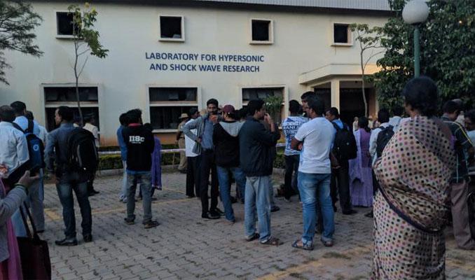 Hindistan'da laboratuvarda patlama
