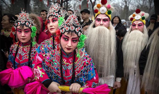 Çin'de Bahar Bayramı dönemi başladı