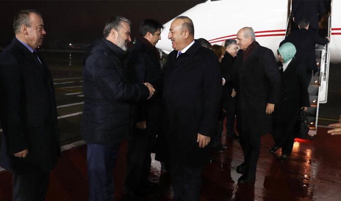 Çavuşoğlu ve Kurtulmuş Moskova'da