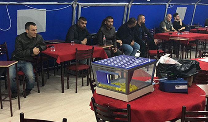 Başkentte kumar çadırına operasyon