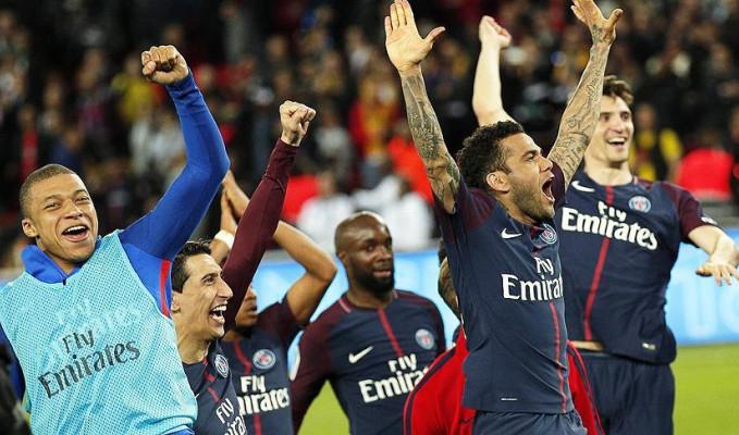 Fransa'da PSG şampiyonluğunu ilan etti