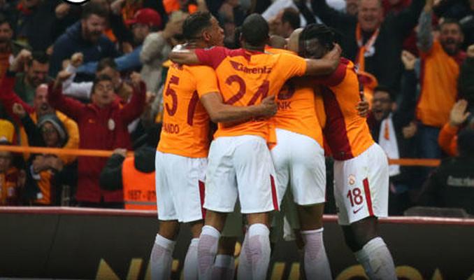 Galatasaray'dan müthiş iç saha performansı