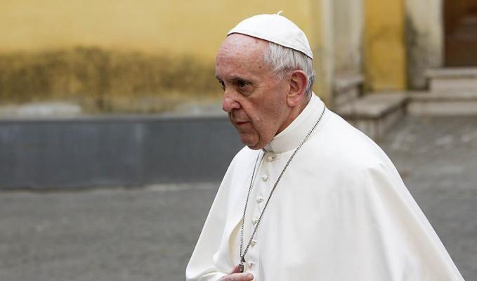 Gazze'deki katliama bir tepki de Papa'dan!