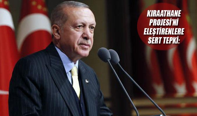 Erdoğan: Bunların fikri neyse zikri de o