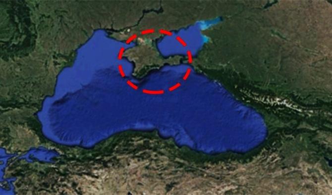Kırım'ın tümünde elektrikler kesildi!