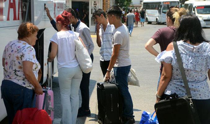 Tatilciler seçime geliyor
