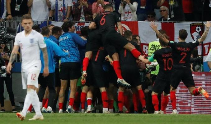 Hırvatistan, Dünya Kupası'nda finale yükseldi