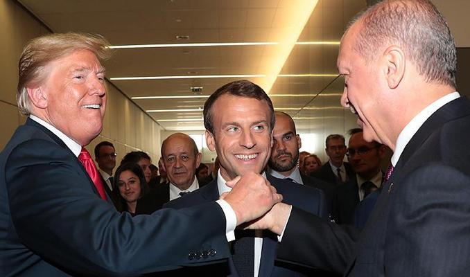 Erdoğan ve Trump'tan samimi poz
