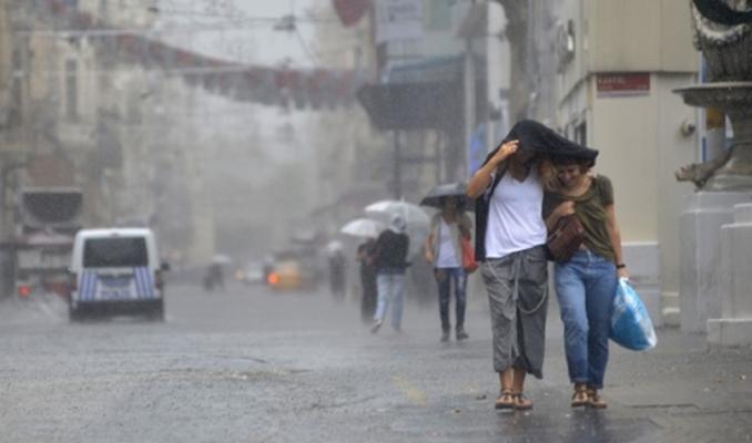 6 il için sağanak yağış uyarısı yapıldı!