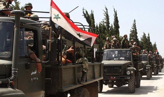 Suriye ordusu Dera'da zafer ilan etti
