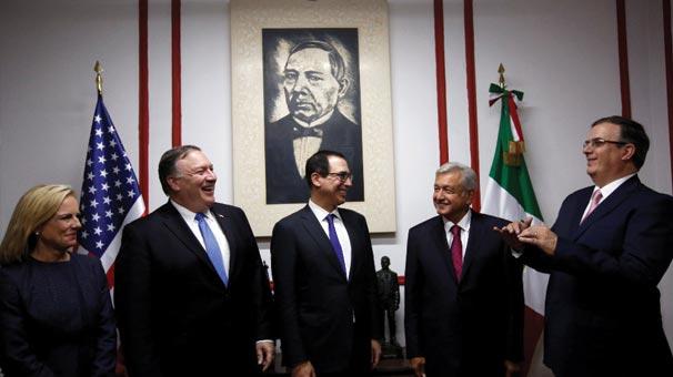 ABD Dışişleri Bakanı Pompeo Meksika'da