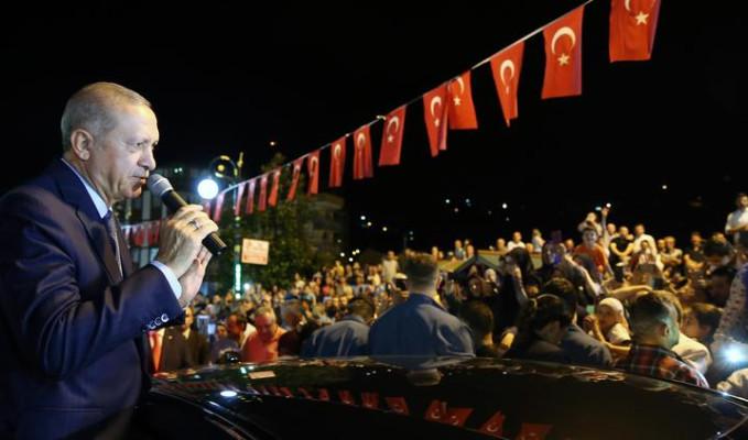Erdoğan: Onların doları varsa bizim de halkımız, hakkımız var
