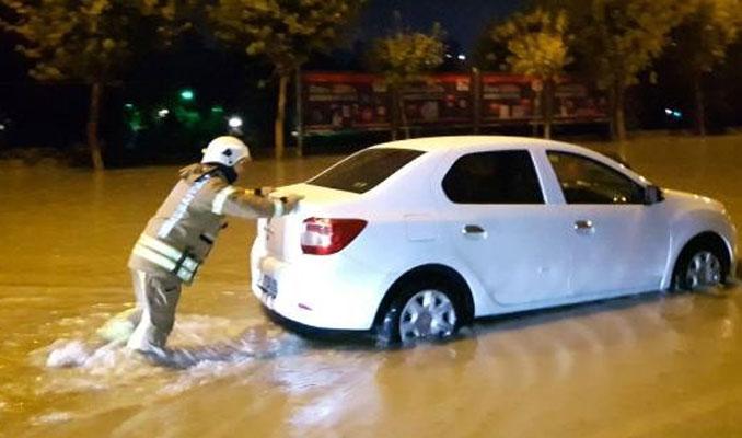 İstanbul'da yağış gece boyu sürdü