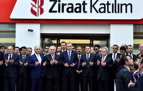 Ziraat Katılım Bankasının ilk şubesi açıldı