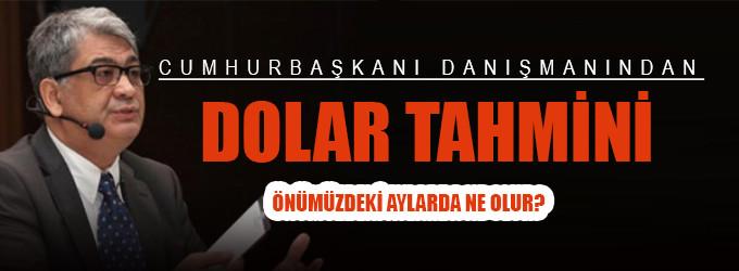 Cemil Ertem'den dolar tahmini!