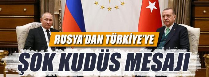 Moskova'dan Ankara'ya Kudüs mesajı