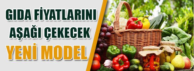 Gıda fiyatlarını aşağı çekecek yeni model
