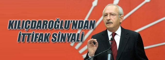 Kılıçdaroğlu ittifaktan yana
