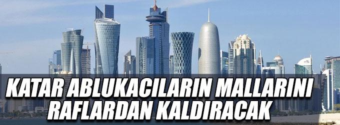 Katar ambargocuların mallarını almayacak