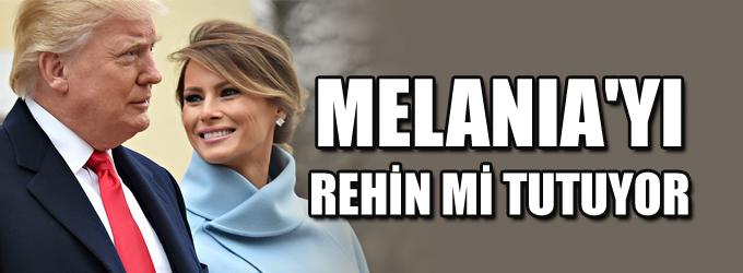 O danışmandan yeni iddia: Trump, Melania'yı rehin tutuyor