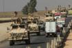 Suriyeli Kürtler Irak'a giden ABD konvoyunu taşladı