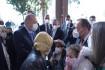 Cumhurbaşkanı Erdoğan, Ayda bebeği ziyaret etti