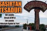 Ziraat ATM'si, Hüseyin Aydın'ın Yeri… Tesadüfün böylesi!