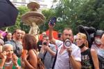 """İtalya'da """"Yeşil Geçiş"""" belgesi protesto edildi"""