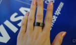 VISA'nın 'akıllı' yüzüğü ile 1 saniyede ödeme