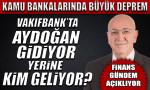 Aydoğan Vakıfbank'tan ayrılıyor, Mehmet Emin Özcan geliyor