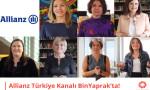 Allianz Türkiye kadın çalışanlarının hikayelerini 'BinYaprak'ta paylaştı