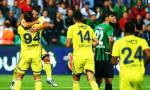 Fenerbahçe deplasmanda Denizli'yi devirdi