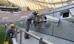 Katar sıcaklıklar yüzünden açık havaya klima kuruyor