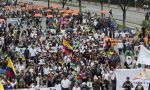 Kolombiya genel grev nedeniyle sınırlarını kapattı