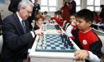 İş Bankası 25 bininci satranç sınıfını açtı