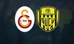 Galatasaray - Ankaragücü maçında ilk 11'ler belli oldu